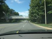 Freddie Mac Pedestrian overpass