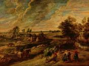 Farmers Returning from the Fields