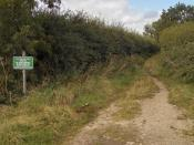 The Footpath to Nuncoatham Priory - geograph.org.uk - 572743