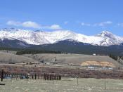 Mount Sherman and Mosquito Range, Leadville side