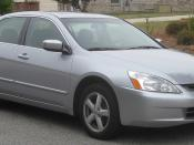 2003-2004 Honda Accord photographed in Fort Washington, Maryland, USA. Category:Honda Accord (2002, North America)