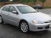 2006-2007 Honda Accord photographed in USA. Category:Honda Accord (2002, North America)