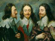 Charles I, King of England, from Three Angles. The famous triple portrait of Charles I by Anthony van Dyck.