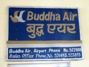 English: Buddha Air: surely the best karma in the industry!