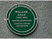William Lilly - Master Astrologer