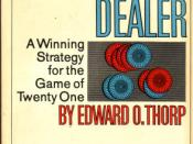 Beat the Dealer by Ed Thorp, 1966 edition