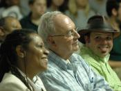 English: Waveland, Miss., April 21, 2006 - AmeriCorps*NCCC National Director Merlene Mazyck, Senator Harris Wofford (D-PA), and Thomas Howard, Jr., a NCCC alumnus from 1998, are here for the NCCC community kick off of the National and Global Youth Service