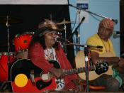 Ruby Hunter and Archie Roach at the 2009 Tamworth Country Music Festival
