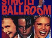 Strictly Ballroom poster art.
