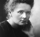 English: Marie Curie (born Maria Salomea Skłodowska), Nobel Prize awardee in Chemistry. Official Nobel Prize photo. Bild:Marie Curie (Nobel-Chem).png