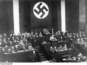 Hitler's Reichstag speech promoting the bill