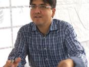 Sherman Alexie at the Texas Book Festival, Austin, Texas, United States.