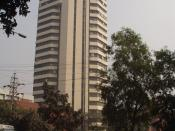 The Yunus Centre is located in the Grameen Bank building in Mirpur Thana, Dhaka