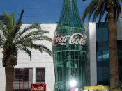 The Las Vegas Strip World of Coca-Cola museum in 2003