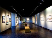 English: Shot of the Gardiner Art Gallery at Oklahoma State University