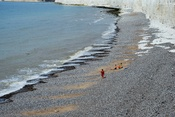 English: The beach at Birling Gap