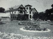 Montréal, vers 1910. Résidence de Alfred Joyce, Outremont.