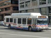 English: Washington, DC's Metrobus powered with compressed natural gas.