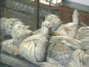 Effigy of Anne Bray and Baron Cobham