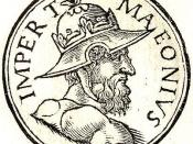 English: Maeonius was a short-lived Roman usurper. He is also known with the names of Odaenathus (Syncellus I p717) and Rufinus (Continuator of Cassius Dio frg. 166).