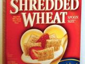 Post Cereals' shredded wheat