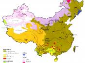 English: Ethnolinguistic groups of China.