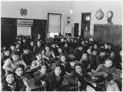Classroom with students and teachers - NARA - 285702