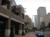 English: The Tulane University Hospital and Clinic, located in the Medical District of downtown New Orleans.