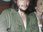 Che Guevara in his trademark olive-green military fatigues, June 2, 1959 Cuba