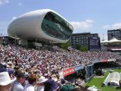 Investec media centre at Lord's cricket ground (cropped)