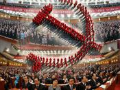 THE REGIMENTED EMBODIMENT OF THE COMMUNIST PARTY OF CHINA AT THE 18TH CONGRESS NOVEMBER 2012