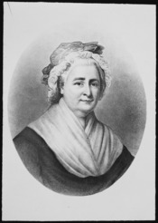 Washington, Mrs. George (Martha) (bust) - NARA - 518219