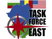 English: Logo for Task Force-East