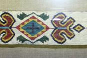 English: Quapaw beaded sash, ca. 1900, Oklahoma, collection of the Oklahoma History Center, OKC