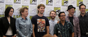 English: The Napoleon Dynamite cast at the 2011 Comic Con in San Diego