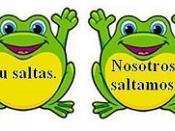 Frog Jump Spanish Verb Conjugation Game