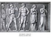 Coriolanus, bas relief