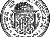 Official seal of Framingham, Massachusetts