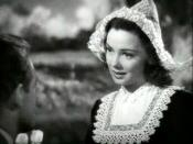 English: Kathryn Grayson as Billie Van Maaster in the trailer for the 1942 musical romantic comedy film Seven Sweethearts.