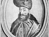 Mihai Viteazul wrongly identified as Gheorghe Ştefan of Moldavia.
