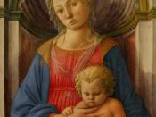 Madonna and Child (1440-1445), tempera on panel. National Gallery of Art, Washington, DC.