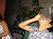 Español: Jugando caricachupas