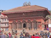 Le temple de Shiva et Parvati (Katmandou)