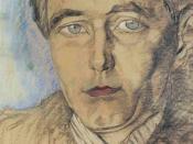 English: Stanisław Ignacy Witkiewicz: Roman Ingarden, Polish philosopher