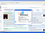 Internet Explorer 6 in Windows XP