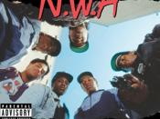 N.W.A's Straight Outta Compton.