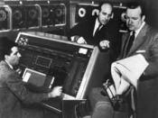 UNIVAC on CBS TV, election night, 1952