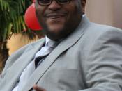 Season two winner of American Idol, Ruben Studdard.