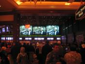 Wynn Las Vegas sportsbook during Super Bowl XLII