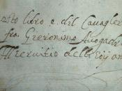 Inscription of Fr. Hieronimo Avogadro, Knight of Malta
